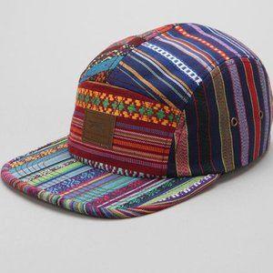 OBEY Gaucho 5-Panel Hat - Buckle Strap Closure